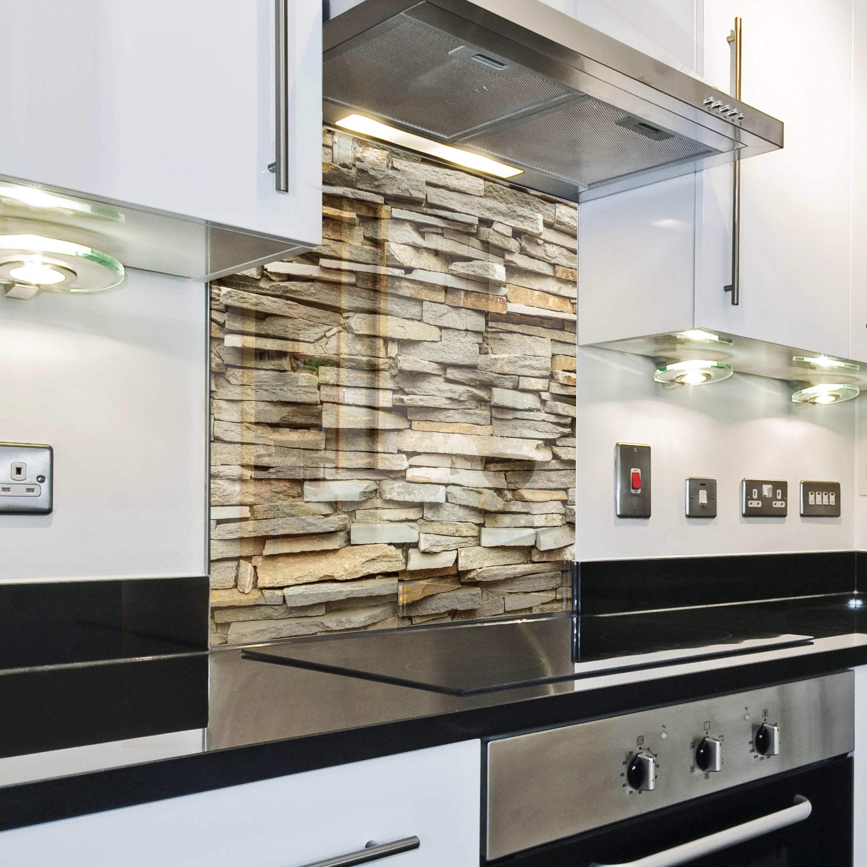 Splashback paraschizzi paraspruzzi rivestimento cucina - Pannello cucina rivestimento ...