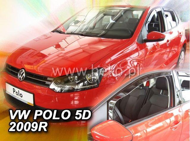 4 Deflettori Aria Antiturbo VW POLO V gen 2009-2017 5 porte
