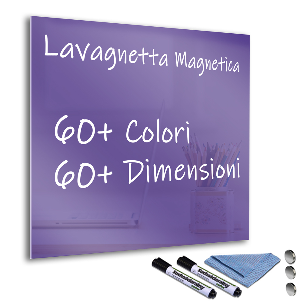 Vernice Lavagna Magnetica Colorata dettagli su lavagna lavagnetta magnetica vetro cancellabile colorata  pennarelli porpora