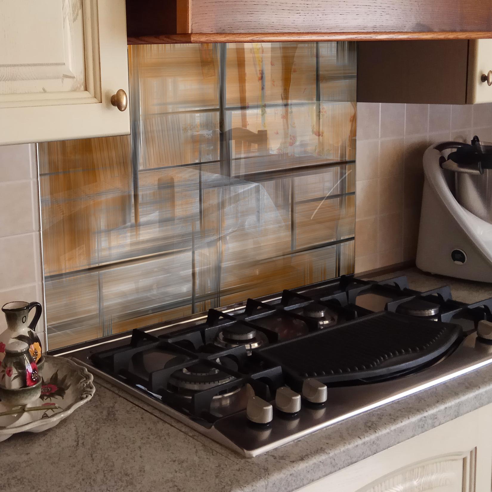 kÜchenrÜckwand spritzschutz küche gehärtetes glas