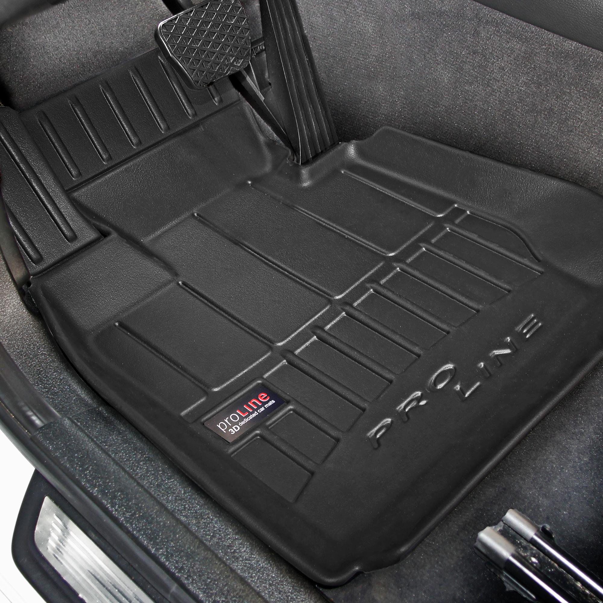 Tappetini in Gomma 3D PRO-Line Compatibile con BMW 5 E60 Frogum E61 2003-2010