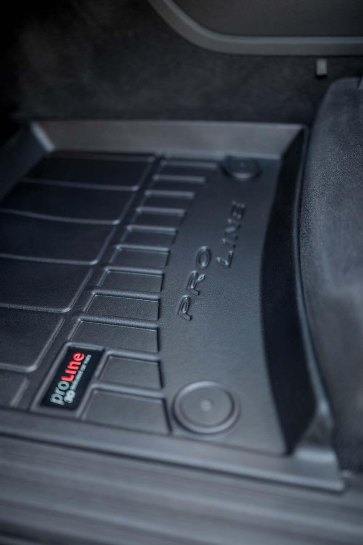 miniatura 4 - Tappetini Tappeti PRO LINE 3D per Jeep Renegade / Fiat 500X 2014 in poi in gomma
