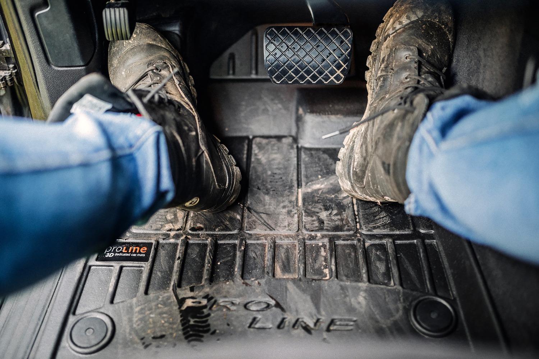 miniatura 10 - Tappetini Tappeti PRO LINE 3D per Jeep Renegade / Fiat 500X 2014 in poi in gomma